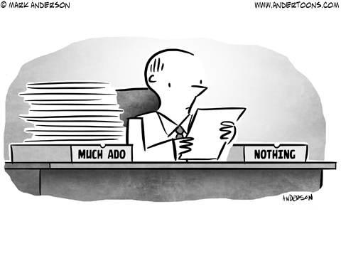 Shakespeare Business Cartoon