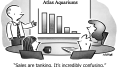 Confusing Situation Business Cartoon