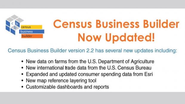 July 2017 Census Business Builder Update