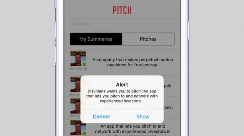 Pitch Investors Live App Connects Investors with Entrepreneurs via Video Conference