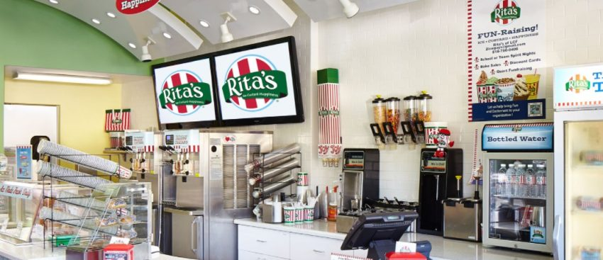 Ice Cream Franchise List - Rita's Italian Ice