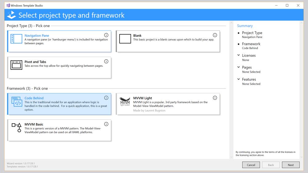 Microsoft Closing Windows App Studio, Focusing on Template Studio