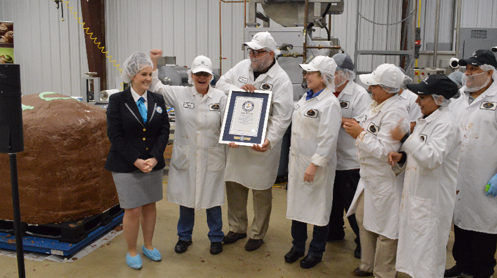 Small Business Guinness World Record Inspiration - Largest Chocolate Truffle