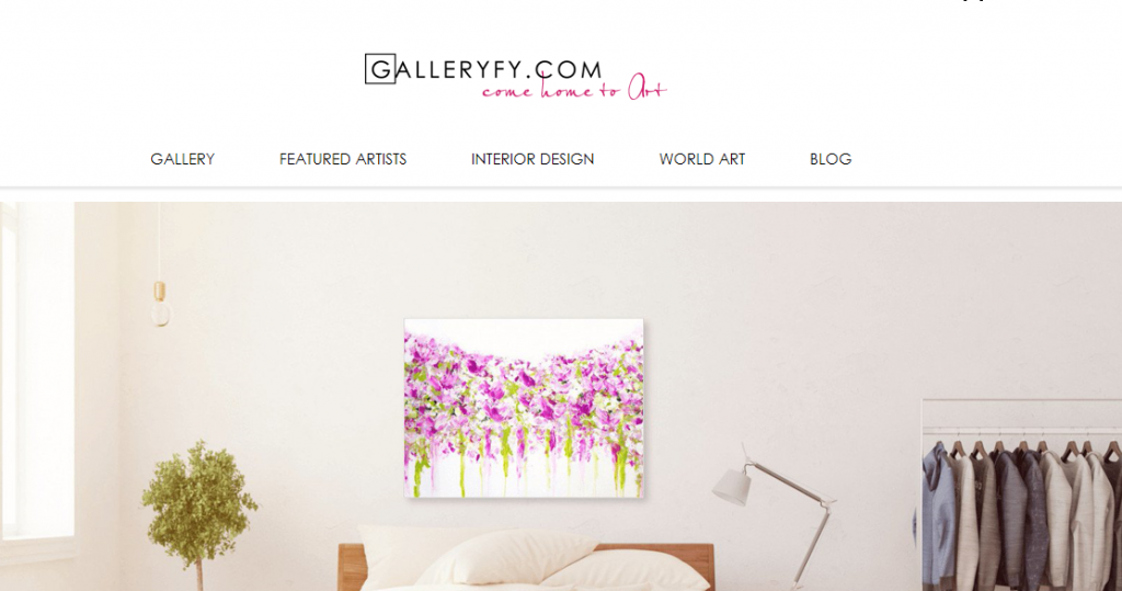 Where to Sell Art Online - Galleryfy