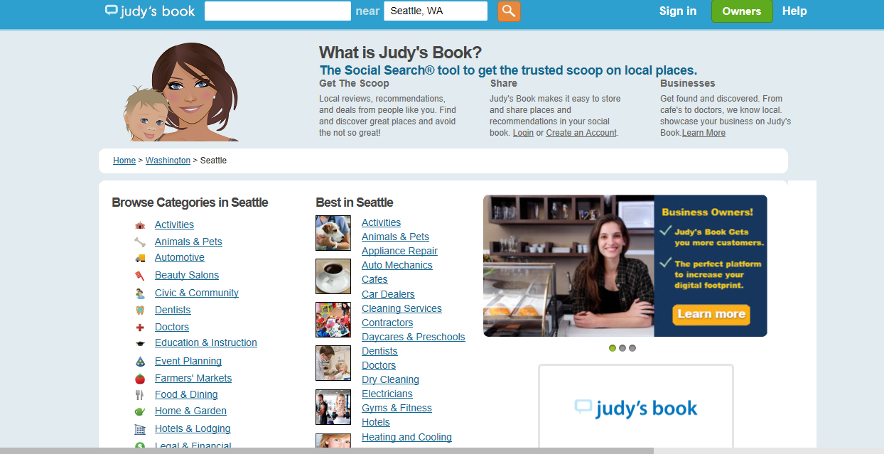 24 Business Review Sites to Help Monitor Your Online Reputation - Judy's Book
