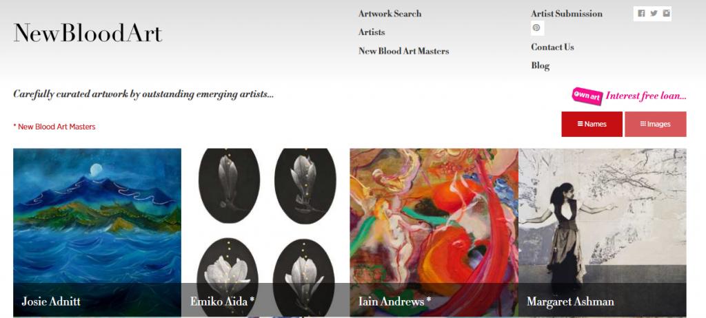 Where to Sell Art Online - NewBloodArt
