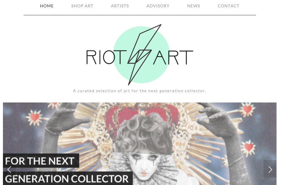 Where to Sell Art Online - Riot Art