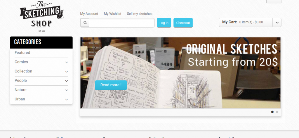 Where to Sell Art Online - The Sketching Shop