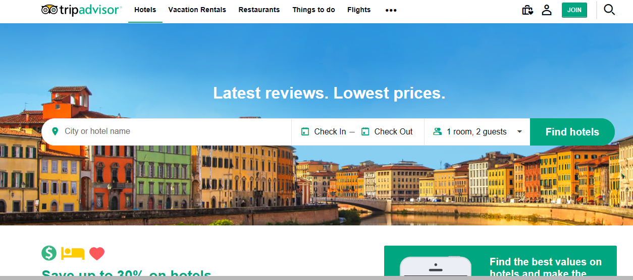 24 Business Review Sites to Help Monitor Your Online Reputation - TripAdvisor