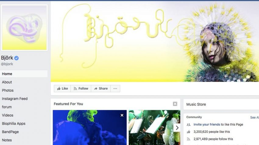 50 Facebook Page Examples to Keep Your Brand Page Fresh - Bjork