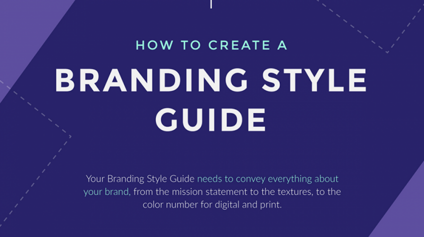 Create A Brand Style Guide For Your Small Business Infographic