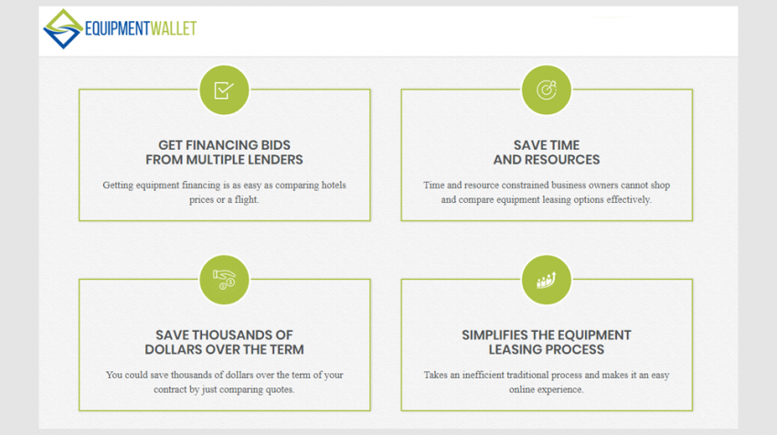Equipment Financing Company EquipmentWallet Matches Small Businesses with Loans for Equipment Upgrades
