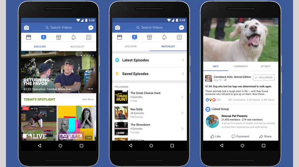 Build a Following for Your Business with Facebook Watch
