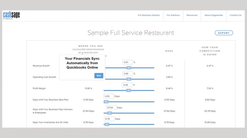 SageWorks Releases CashSage Cash Flow Solution to Measure Your Cash Flow - Free!