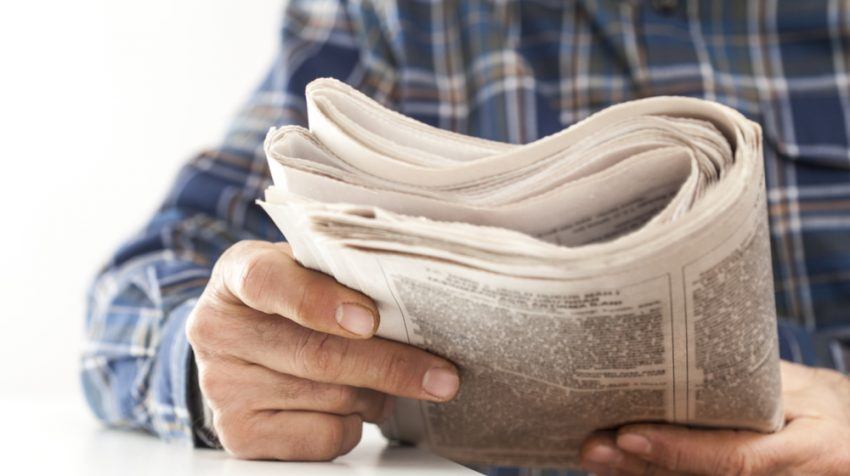 Small Business Newspaper Advertising is Alive and Well
