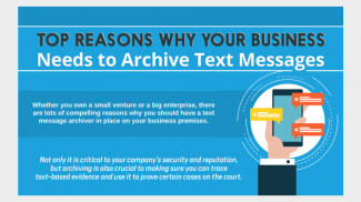 Why Businesses Should Archive Text Messages
