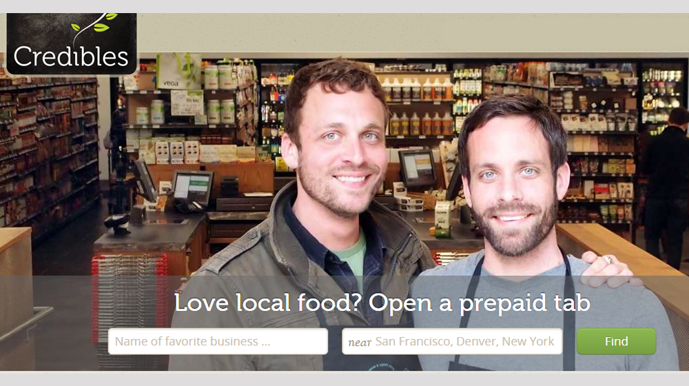 Credibles App Lets Customers Invest in Your Small Restaurant By Paying for Food -- in Advance