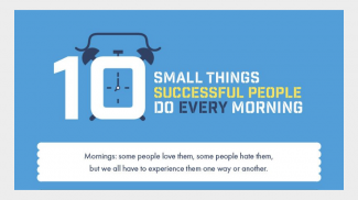 Want to Be Successful in Business? Try These Morning Habits of Successful People (INFOGRAPHIC)