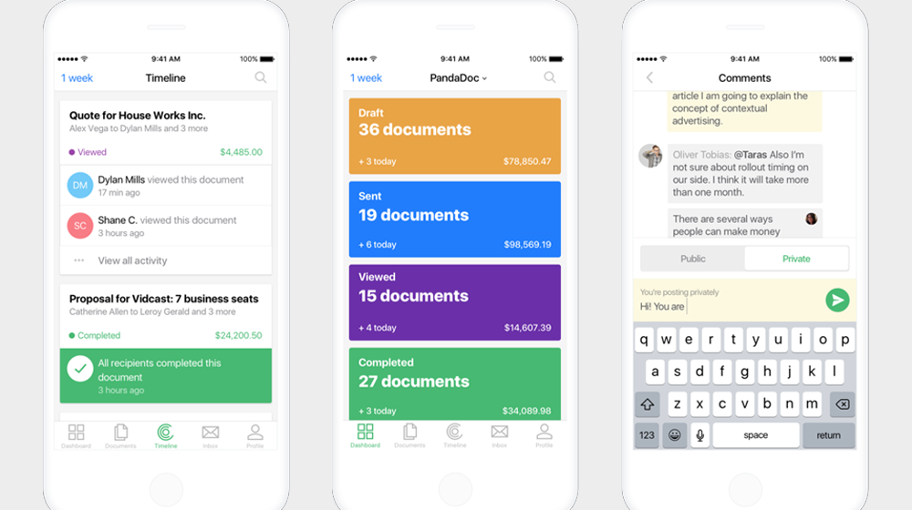 Organize and Sign Legally Binding Documents with New PandaDoc App