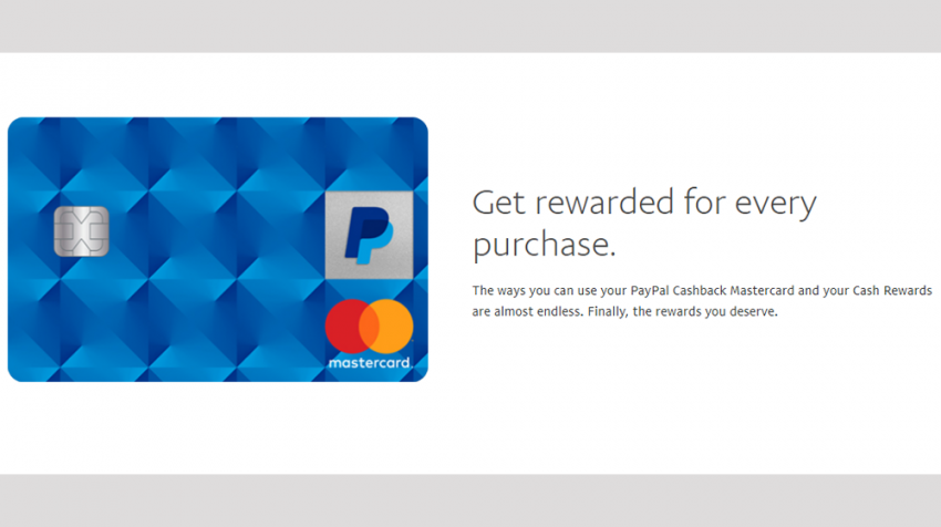 Introducing the New PayPal Mastercard Cash Back Credit Card