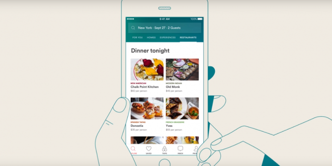 Airbnb and Resy Team Up So Small Restaurants can Get More Reservations