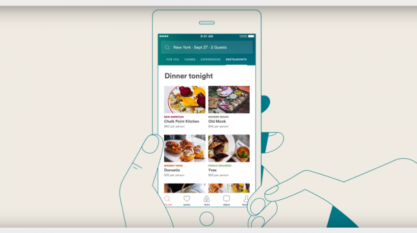 Partnership with Resy Enables Users to Book Restaurant Reservations with Airbnb