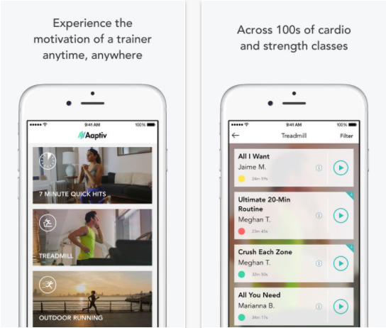 24 of the Best Health and Fitness Apps to Use when Running a Small Business - Aaptiv