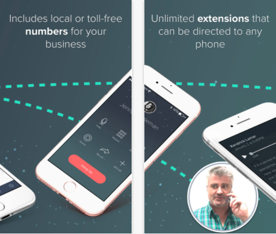 25 Android and iPhone Second Phone Number Apps for Business Only Calls - Cloudphone