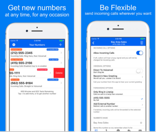25 Android and iPhone Second Phone Number Apps for Business Only Calls - LineUp