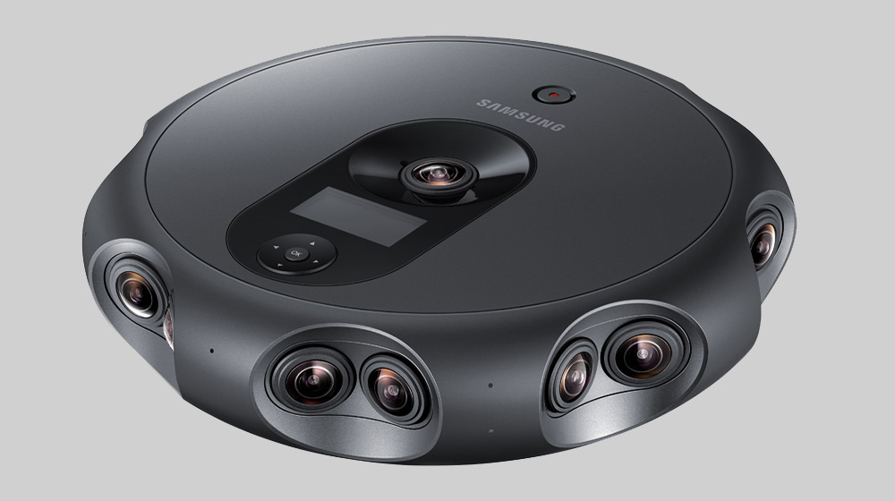 Create Live 360 Videos in 3D with New Samsung 360 Round