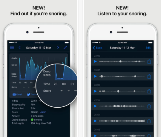24 of the Best Health and Fitness Apps to Use when Running a Small Business - Sleep Cycle