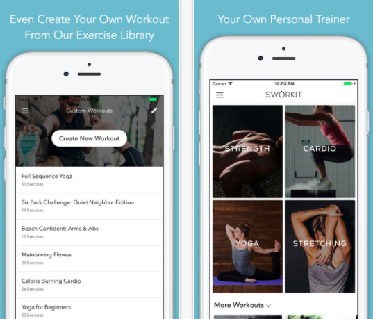 24 of the Best Health and Fitness Apps to Use when Running a Small Business - Sworkit