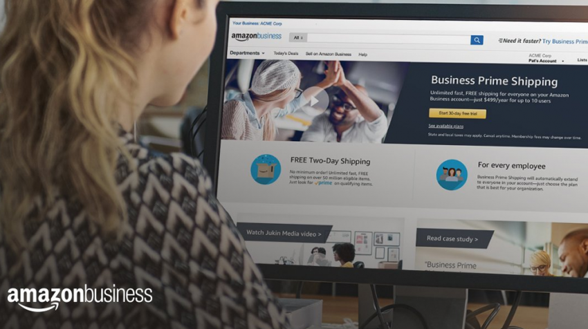 Amazon Business Prime Shipping Features Multi-User Capability