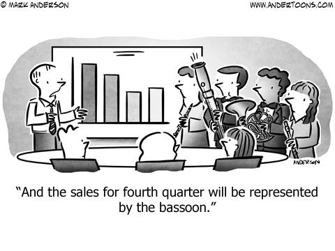 Musician Business Cartoon