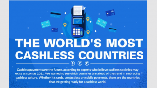 U.S. Ranks 5th Among Cashless Countries -- 3 Credit Cards for Every American