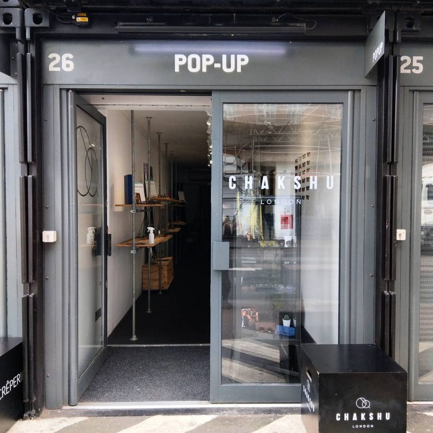 25 Eye Popping Pop-up Shop Examples to Inspire Your Small Business - Eyewear Shop at Pop-up Mall
