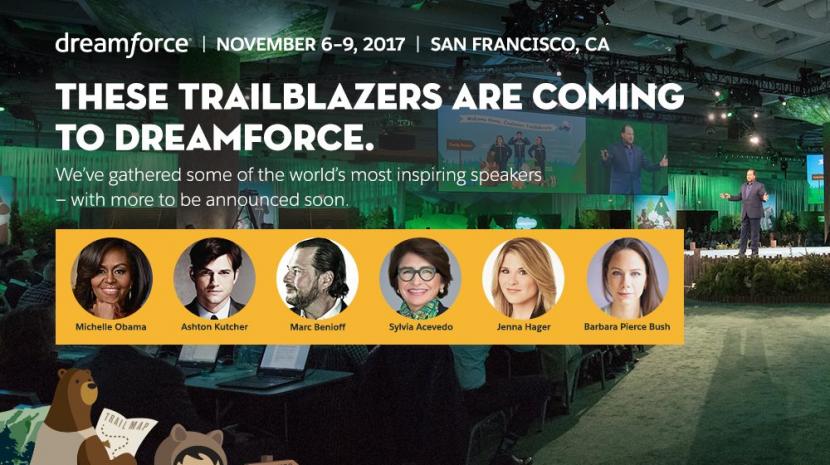 Dreamforce 2017 Agenda