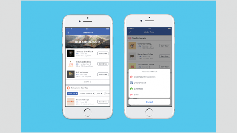 Restaurateurs - Customers Can Now Order Food On Your Facebook Page