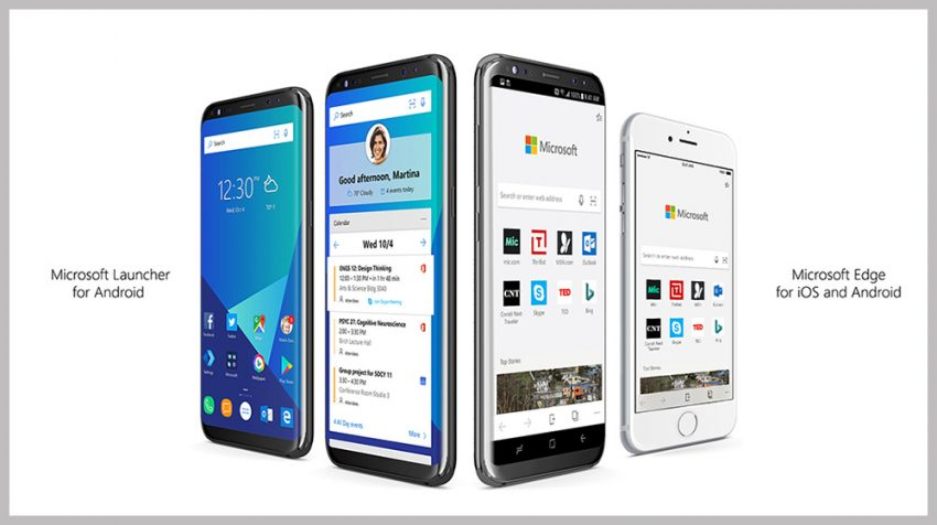 Microsoft Edge and Launcher Apps Come to Mobile Devices