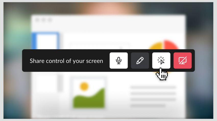 Slack Screen Sharing Lets You Share Control of Your Screen for Team Collaboration