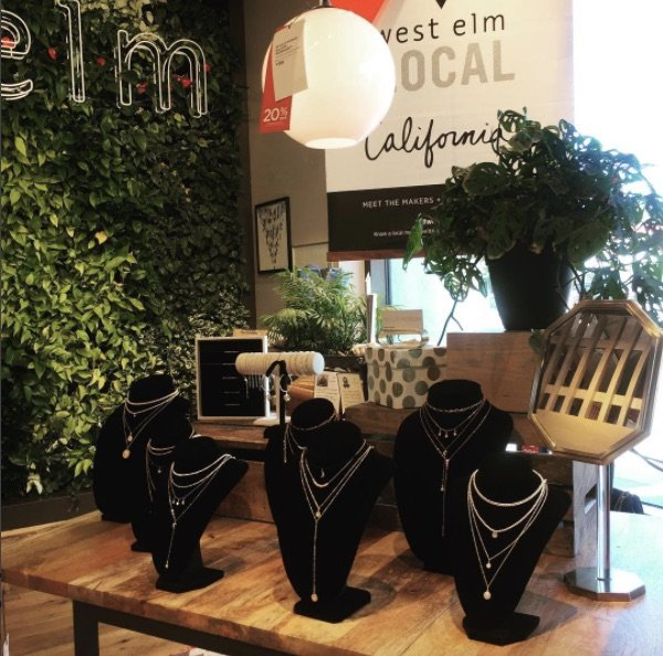 25 Eye Popping Pop-up Shop Examples to Inspire Your Small Business - Jewelry Pop-up Shop in Store
