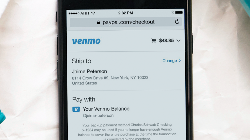 Venmo Now Lets Users Pay Online