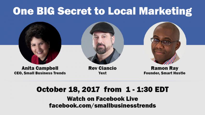 One BIG Secret to Local Marketing – with Rev Ciancio of Yext