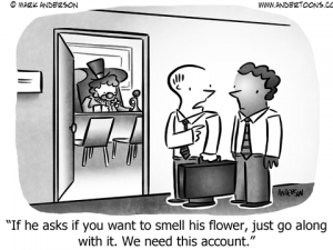 Clown Business Cartoon