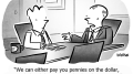 Idioms Business Cartoon