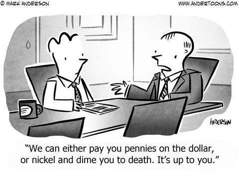 Idioms Business Cartoon