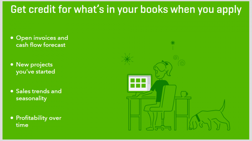 QuickBooks Capital Bases Credit for Loans on QuickBooks Data