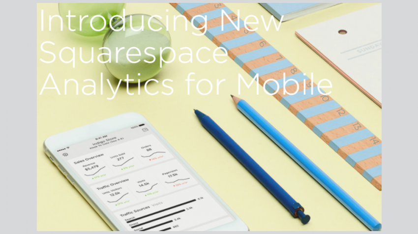 New Mobile Squarespace Analytics App Launched