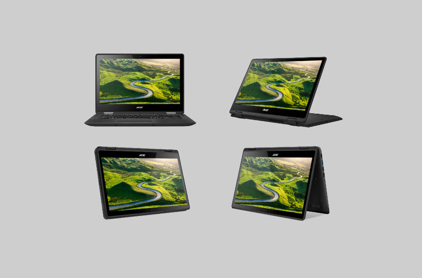 Best Budget Laptops Under 500 Dollars - Acer Spin 5