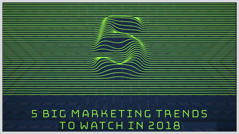 5 2018 Marketing Trends For Small Businesses (INFOGRAPHIC)